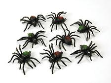 8 # RAGNI PLASTICA spaventosa CREATURE decorazione di Halloween Scena Costume