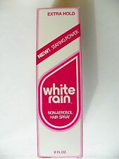 VINTAGE WHITE RAIN NON-AEROSOL EXTRA HOLD HAIR SPRAY 8oz -NEW