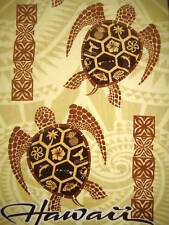 Hawaiian Hawaii Design Beach / Pool / Bath Towel 60 x 31 ~ TRIBAL HONU TURTLES