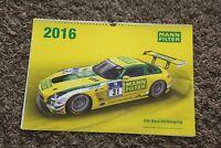 24h Race Nürburgring Kalender Mann Filter 2016 Rennsport Motorsport calendar