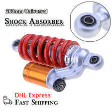 260mm 10'' Motorcycle Rear Shock Absorbers Suspension DirtBike Scooter Universal