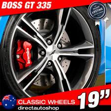 4x GT335 Style 19 inch 1985 Dark Argent Wheel Ford Falcon AU BA BF FG FPV FR XR6