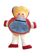 Vintage 1977 Dan-Dee Imports Little Red Riding Hood Flip Story Cloth Doll Book