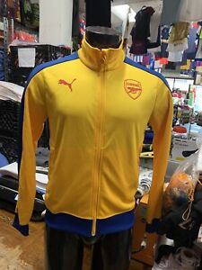 Puma Arsenal Fc Track Jacket T7 Yellow  Blue Limited Edition Size Man M  Only