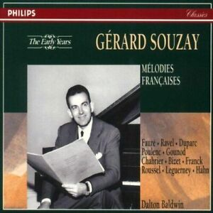 Melodies Francaises by Gerard Souzay  4 CDs boxed booklet