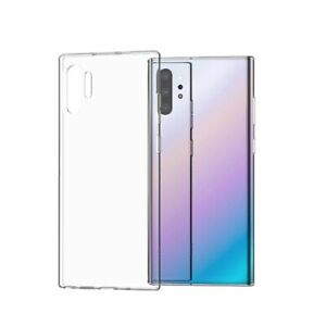 For Samsung Galaxy Note10+ Plus Case TPU Protective Slim Cover Transparent Clear
