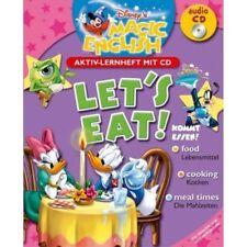 Disney's Magic English Let's Eat Kommt Essen Englisch Lernheft mit Audio-CD