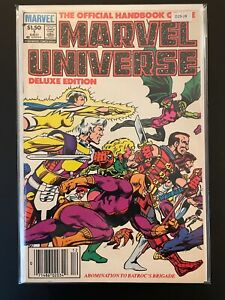 Marvel Universe Deluxe Edition 1 Newsstand Variant High Grade Marvel D29-28