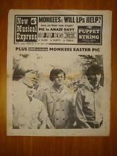 NME #1054 1967 MAR 25 MONKEES ELVIS DUSTY SPRINGFIELD
