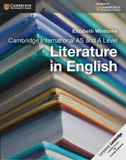 Cambridge International AS and a Level Literature in English Coursebook by...