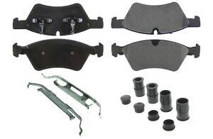 Posi Quiet Semi Metallic Brake Pads with Hardwar