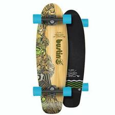 """Bustin Boards Complete Surf Cruiser 29"""" Blue Aztec Heads FREE POST Bamboo/Maple"""