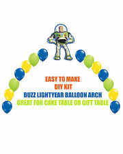 Toy Story Buzz Lightyear Birthday Party BALLOON ARCH for Cake Table Gift Table
