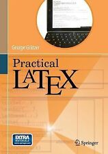 Practical LaTeX: By Gr?tzer, George