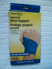 Assured Adjustable Over The Thumb Wrist Supports Left Or Right Wrist Unisex