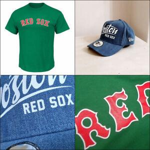 Boston Red Sox Kelly Green MLB T shirt + New Era A Frame Adjustable Cap