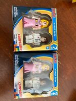 NEW MAKE-IT BLOCKS Blocks Figurine Actress & Doctor Lot Of 2 Packs