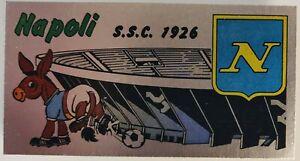 Figurina Sticker Album Calciatori Panini 1974 75 N 359 Badge scudetto NAPOLI NEW