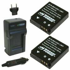 Wasabi Power Battery (2-Pack) and Charger for Pentax D-LI106