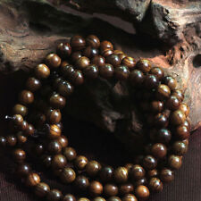 Black rosewood108 8MM Buddhist Prayer Bead Mala Necklace Bracelet FO