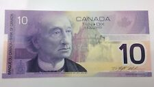 2000 Canada Uncirculated 10 Ten Dollar FDV Prefix Canadian Banknote C853