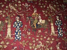 AMAZING BRUNSCHWIG&FILS CHINOISERIE ASIAN THEME CUSTOM DRAPES (3)SETS AVAILABLE