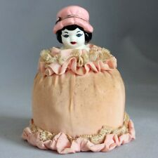 Antique Vintage CHINA PIN CUSHION DOLL