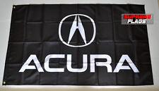 Acura Flag Banner 3x5 ft Japanese Car Racing Black