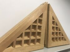 Eduardo Paolozzi Wooden Sculpture with provenience letter Pyramids