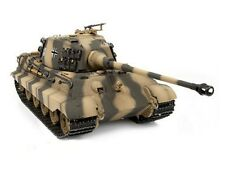 1:16 Torro RC King Tiger Tank Henschel Turret 2.4GHz Smoke & Sound Metal Edition