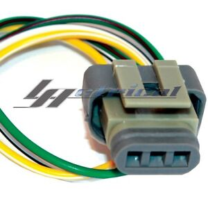 ALTERNATOR REPAIR PLUG HARNESS 3 WIRE PIGTAIL CONNECTOR For FORD 3G 4G GENERATOR