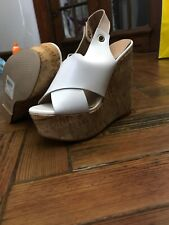 Brand New River Island White Wedges Size 4