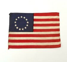 More details for 1930's nylon parachute silk betsy ross usa stars & stripes protest rally flag