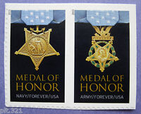 Sc # 4822-4823 ~ Forever Stamp ~ World War II Medal of Honor Issue (dc3)