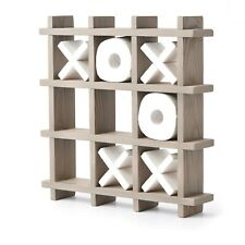 Tic Tac Toe Toilet Paper Holder - Xs And Os Wall Mounted Loo Roll Storage