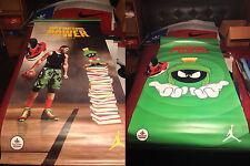 Footlocker Canvas Banner Pole Display Poster (Blake Griffin + Marvin Martian)