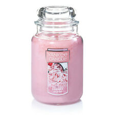 ☆☆SUMMER SCOOP☆☆ LARGE YANKEE CANDLE JAR 22OZ. ☆☆ FREE SHIPPING☆☆GREAT SCENT