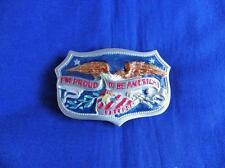 I'M PROUD TO BE américain boucle ceinture