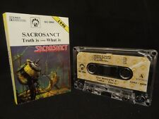 SACROSANCT Truth Is - What Is / 1990 / MC, CASSETTE