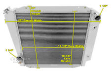 3 Row Ace Champion Radiator for 1966 - 1977 Ford Bronco Ford V8 Conversion