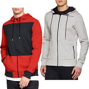 Under Armour Pursuit Hoodie Tracksuit Top Hoody Full Zip Jacket for Men NEW