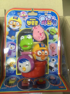 Korean TV Anime Little Penguin Pororo Infant Baby Shower Cup Play Toy