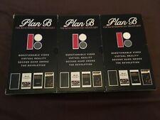 3 x Plan B Skateboarding VHS Videos 1/2/3 - 3 OF 4