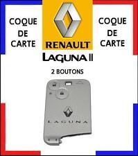 COQUE de CARTE modèle avec boutons RENAULT LAGUNA 2, livré en 48H^.