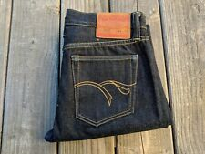 Flat Head Raw Japanese Selvedge Denim 30-31w USED
