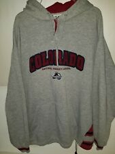 Colorado Avalanche NHL Embroidered Hoodie Sweatshirt .