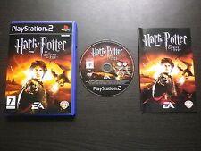 JEU Sony PLAYSTATION 2 PS2 : HARRY POTTER ET LA COUPE DE FEU (complet, suivi)