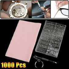 1000 Pcs Montres Vis Ecrou Outil Optique Réparation Micro Lunettes Horloge Kit