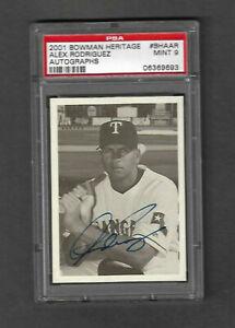 Bowman Alex Rodriguez Texas Rangers Baseball Cards For Sale Ebay