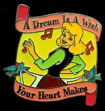 1 DISNEY PIN  *A Dream is a Wish Your Heart Makes - Snow White* Music of Disney